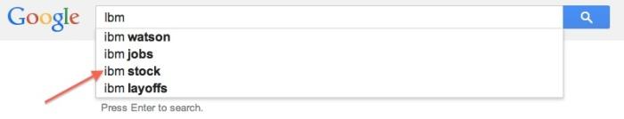 googlesearchibm