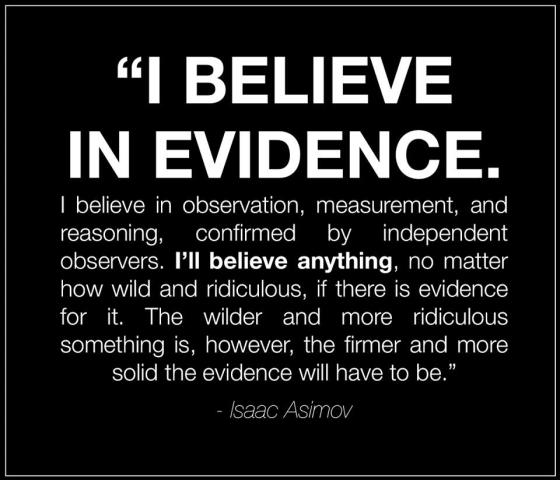 science-evidence