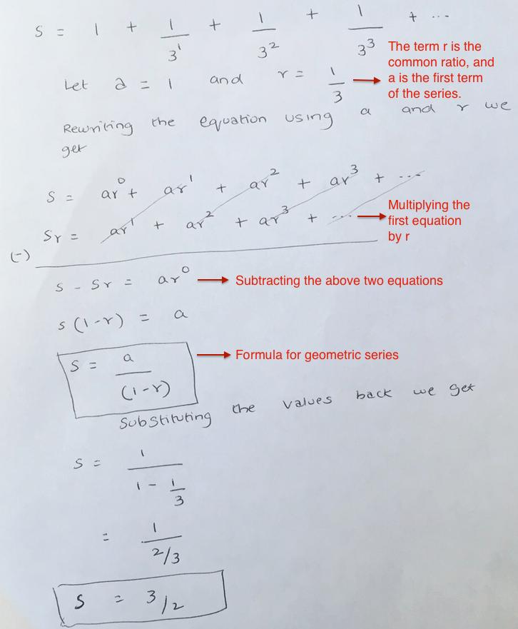 Geometric Series and Gordon Growth Model | Seeking Wisdom